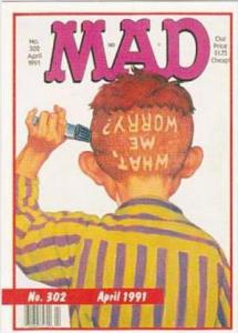Lime Rock Trade Card Mad Magazine Cover Issue No 302 April 1991