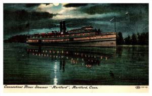 Connecticut River Steamer  Hartford