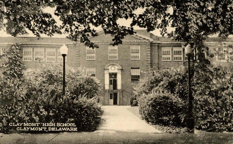 DE - Claymont. Claymont High School