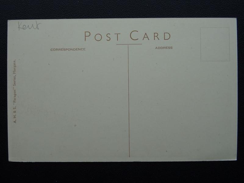 Kent MARGATE Marine SABLES - ANCIENNE CARTE POSTALE by A. H. & S.lp212