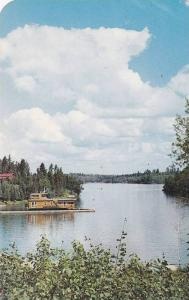 Scene of beauty on the Lake of the Woods at SIOUX NARROWS, Ontario, Canada, 4...