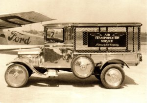 Ford Model T Truck - Air Transportation Service