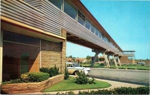Oklahoma postcard - Midway Station - Turner Turnpike
