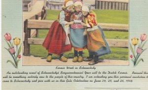 SCHENECTADY, New York, 1948; The Dutch Kermis, Kermis Week in Schenectady
