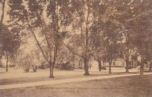 New York Alibon Western House Of Refuge The Boyd And Sprague Cottages Albertype