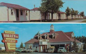 2-Views, Valley Inn Restaurant & Motor Court, Ste. Marthe du cap De La Madele...