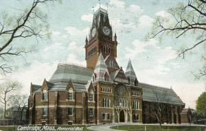 MA - Cambridge. Memorial Hall