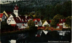 CPA AK Bad Liebenzell Partie am See GERMANY (932765)