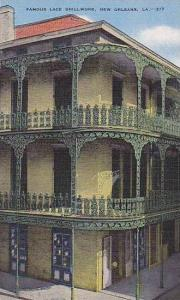 Louisiana New Orleans Famous Lace Grillwork