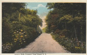 FREEPORT, Long Island, New York, 1900-10s; Lover's Walk