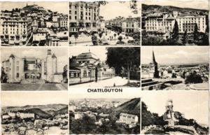 CPA CHATELGUYON - Collage (72374)