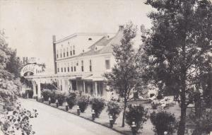 Exterior,  The Portage Inn Hotel,   Quebec,  Canada,  40-60s