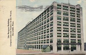 HAVERHILL, Massachusetts, PU-1912; The Burgess Building, Largest Concrete Factor