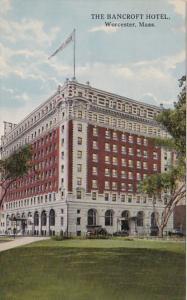 Massachusetts Worcester The Bancroft Hotel 1914