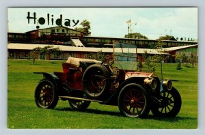 1909 Thomas Flyer Roadster, Holiday West Chrome Postcard