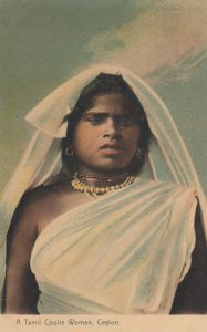 A Tami Coolie Woman , CEYLON , 00-10s