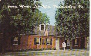 James Monroe Law Office Fredericksburg Virginia
