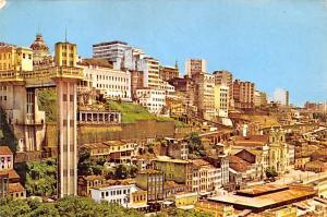 Salvador Brazil, Brasil Vista Parcial C Elevador Lacera Salvador Vista Parcia...