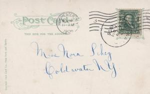 Jones Park Garden and Fountain - Rochester, New York - pm 1906 - UDB