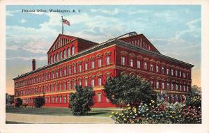 Pension Office, Washington, D.C., early postcard, unused