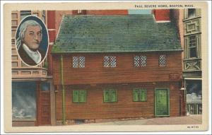 Paul Revere Home, Boston Mass