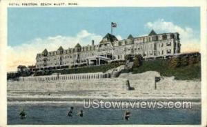 Hotel Preston Beach Bluff MA Unused