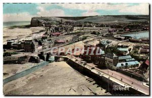 Treport - View from & # 39Egise to seas - Old Postcard