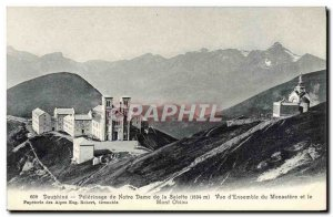 Old Postcard Dauphine Pilgrimage of Nofre Lady of La Salette Monastery and Mo...