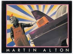 Martin Alton, 'Radio Sunset' PPC By Athena, Unposted