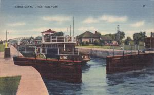 Barge Canal , UTICA , New York , 30-40s