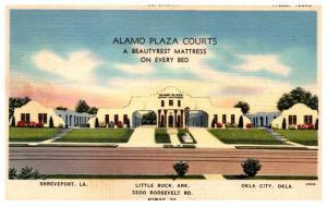 Oklahoma City , Alamo Plaza Courts , Motel