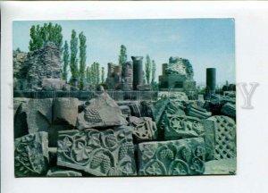 3113306 ARMENIA Ruins of Cathedral ZVARTNOTS near Yerevan OLD
