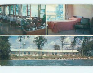 Pre-1980 GREENVILLE LODGE MOTEL Maitland ONTARIO J7816