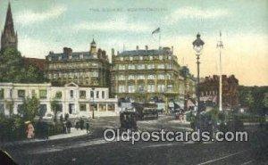 The Square, Dorset Trolley Bournemouth Unused paper chip left bottom corner