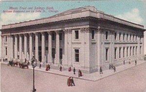 Illinois Chicago Illinois Trust And Savings Bank Lackson Boulevard And La Sal...