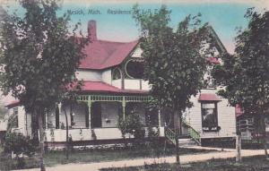 Residence of J. A. Evins, MESICK, Michigan, 00-10s