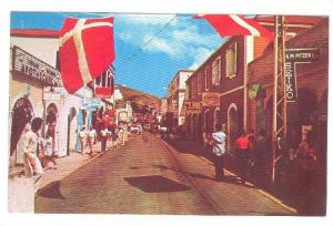 Main Street , Charlotte Amalie , St Thomas , V.I. , 40-60s