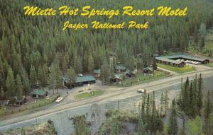 Canada Miette Hot Springs Resort Motel Jasper National Park