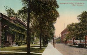 WALKERVILLE , Ontario , 1900-10s ; Sandwich Street