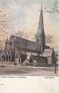 MONTREAL, Quebec, Canada, 1900-1910s; Christ Church Cathedral