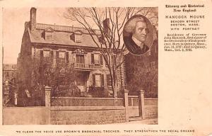 Medicine Advertising Old Vintage Antique Post Card Brown's Bronchial Tro...