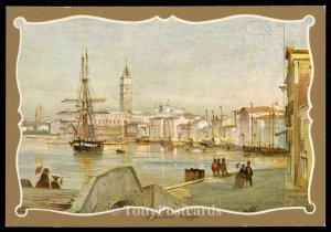 Venezia - Panorama dal Ponte della Veneta Marina