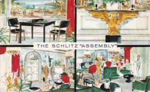Interior Views The Schlitz Assembly Josef Schlitz Brewing Company Milwaukee W...