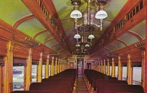 Trains Strasburg Railroad Route 741 Interior Of Passenger Coach #3556