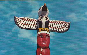 Canada Indian Totem Pole Georgia Park Nanaimo British Columbia