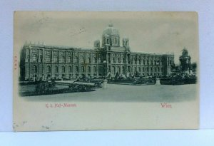 Vienna Austria KK Hof Museum Vintage Postcard