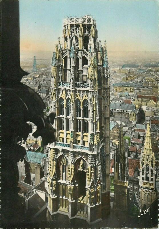 France Rouen La Cathedrale Tour de Beure Tower