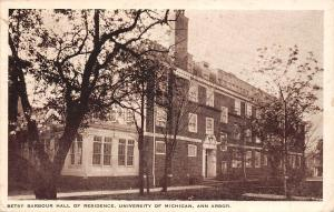 Ann Arbor, Betsy Barbour Hall of Residence, University of Michigan 1929