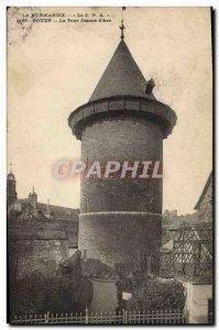 Old Postcard Rouen Tour Jeanne d & # 39Arc