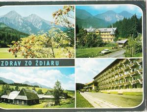 Czech Republic, POZDRAV ZO ZDIARU, used Postcard